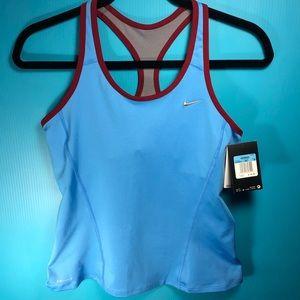 Nike running tank w/ back pocket